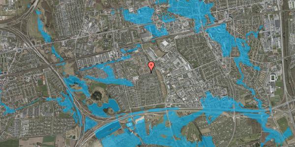 Oversvømmelsesrisiko fra vandløb på Hyrdeengen 225, 2625 Vallensbæk