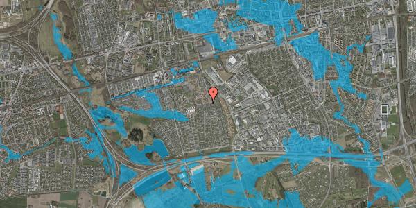 Oversvømmelsesrisiko fra vandløb på Hyrdeengen 227, 2625 Vallensbæk