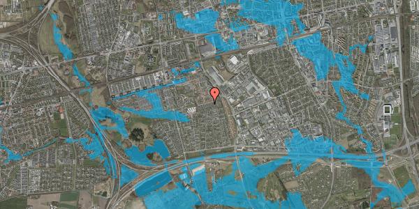 Oversvømmelsesrisiko fra vandløb på Hyrdeengen 229, 2625 Vallensbæk