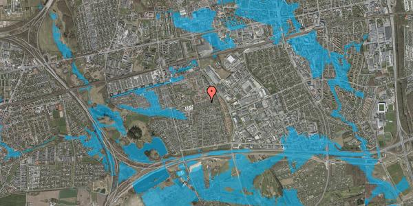 Oversvømmelsesrisiko fra vandløb på Hyrdeengen 231, 2625 Vallensbæk