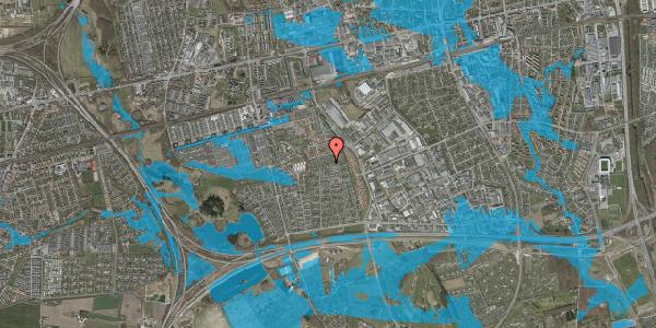 Oversvømmelsesrisiko fra vandløb på Hyrdeengen 235, 2625 Vallensbæk