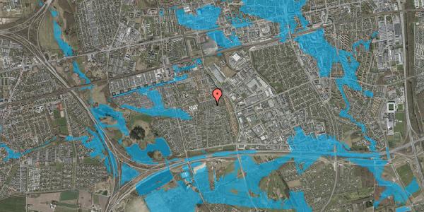 Oversvømmelsesrisiko fra vandløb på Hyrdeengen 237, 2625 Vallensbæk