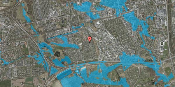 Oversvømmelsesrisiko fra vandløb på Hyrdeengen 245, 2625 Vallensbæk