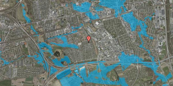 Oversvømmelsesrisiko fra vandløb på Hyrdeengen 251, 2625 Vallensbæk