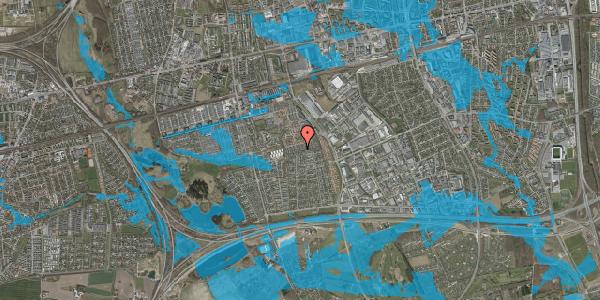 Oversvømmelsesrisiko fra vandløb på Hyrdeengen 255, 2625 Vallensbæk