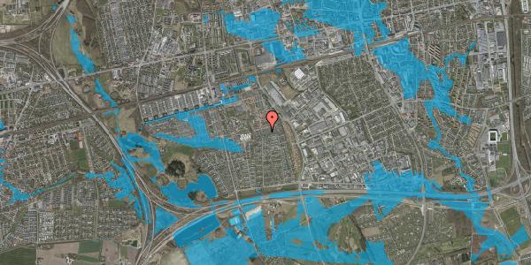 Oversvømmelsesrisiko fra vandløb på Hyrdeengen 261, 2625 Vallensbæk