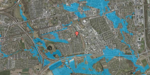 Oversvømmelsesrisiko fra vandløb på Hyrdeengen 267, 2625 Vallensbæk