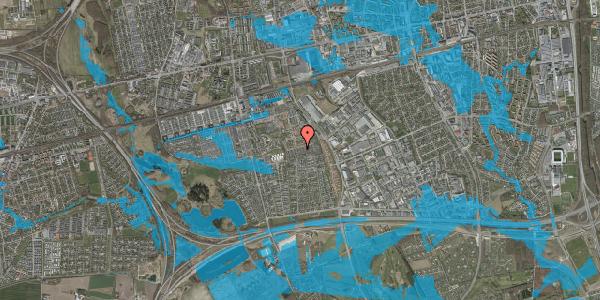 Oversvømmelsesrisiko fra vandløb på Hyrdeengen 271, 2625 Vallensbæk