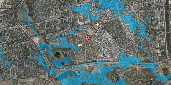 Oversvømmelsesrisiko fra vandløb på Hyrdeengen 281, 2625 Vallensbæk