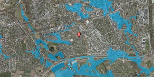 Oversvømmelsesrisiko fra vandløb på Hyrdeengen 287, 2625 Vallensbæk