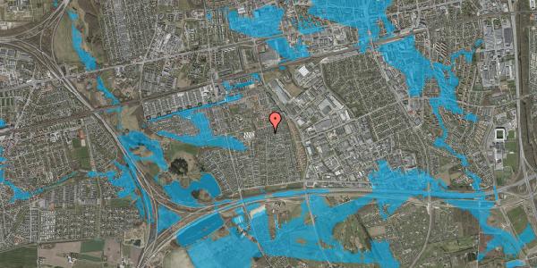 Oversvømmelsesrisiko fra vandløb på Hyrdeengen 291, 2625 Vallensbæk