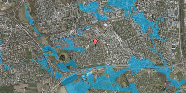 Oversvømmelsesrisiko fra vandløb på Hyrdeengen 297, 2625 Vallensbæk