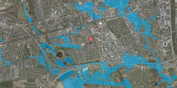 Oversvømmelsesrisiko fra vandløb på Hyrdeengen 299, 2625 Vallensbæk