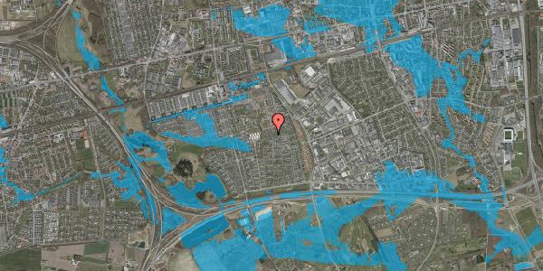 Oversvømmelsesrisiko fra vandløb på Hyrdeengen 305, 2625 Vallensbæk