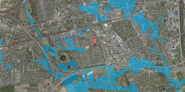 Oversvømmelsesrisiko fra vandløb på Hyrdeengen 315, 2625 Vallensbæk