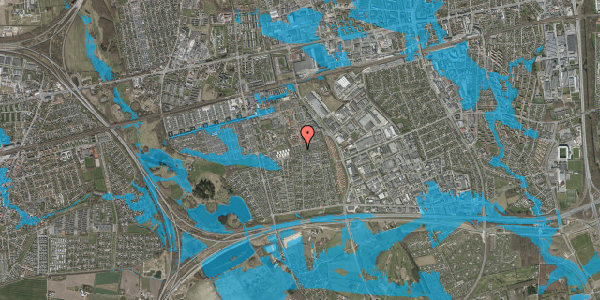 Oversvømmelsesrisiko fra vandløb på Hyrdeengen 317, 2625 Vallensbæk