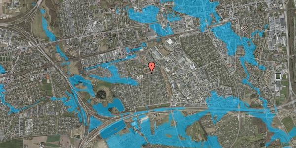 Oversvømmelsesrisiko fra vandløb på Hyrdeengen 329, 2625 Vallensbæk