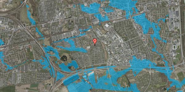 Oversvømmelsesrisiko fra vandløb på Hyrdeengen 343, 2625 Vallensbæk