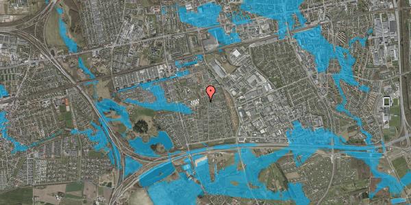 Oversvømmelsesrisiko fra vandløb på Hyrdeengen 345, 2625 Vallensbæk