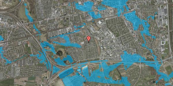 Oversvømmelsesrisiko fra vandløb på Hyrdeengen 349, 2625 Vallensbæk