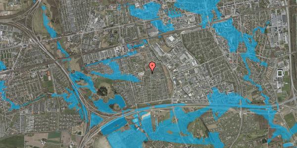 Oversvømmelsesrisiko fra vandløb på Hyrdeengen 351, 2625 Vallensbæk
