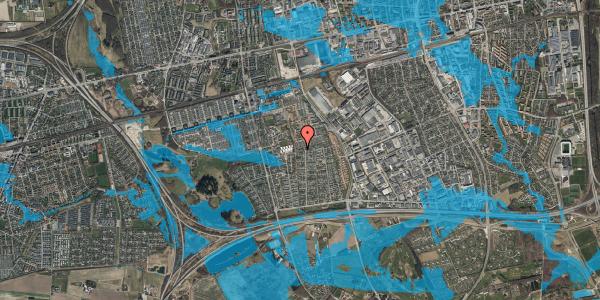 Oversvømmelsesrisiko fra vandløb på Hyrdeengen 355, 2625 Vallensbæk