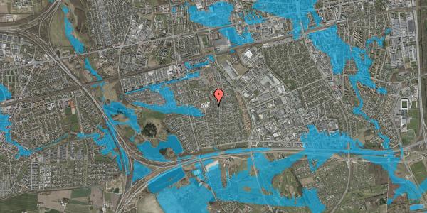 Oversvømmelsesrisiko fra vandløb på Hyrdeengen 363, 2625 Vallensbæk