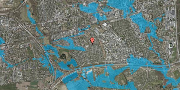 Oversvømmelsesrisiko fra vandløb på Hyrdeengen 383, 2625 Vallensbæk