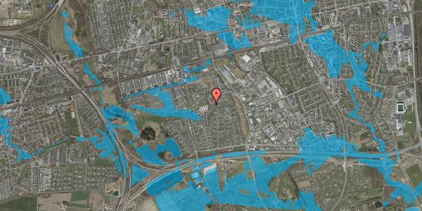 Oversvømmelsesrisiko fra vandløb på Hyrdeengen 389, 2625 Vallensbæk