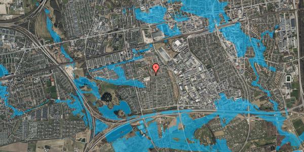 Oversvømmelsesrisiko fra vandløb på Hyrdeengen 397, 2625 Vallensbæk