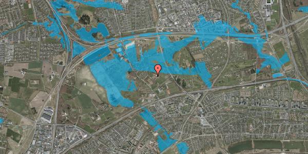 Oversvømmelsesrisiko fra vandløb på Idræts Alle 5, 2625 Vallensbæk