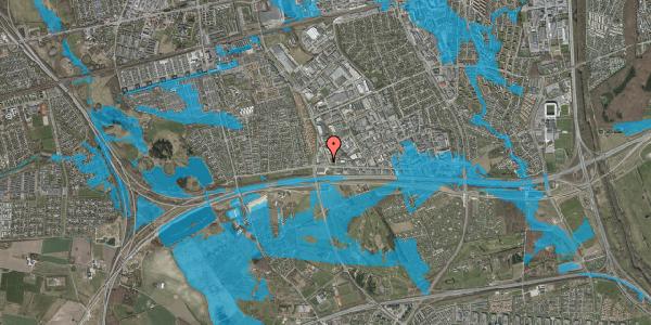 Oversvømmelsesrisiko fra vandløb på Jydekrogen 1, 2625 Vallensbæk