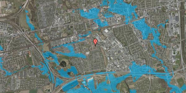 Oversvømmelsesrisiko fra vandløb på Liljeparken 5, 2625 Vallensbæk