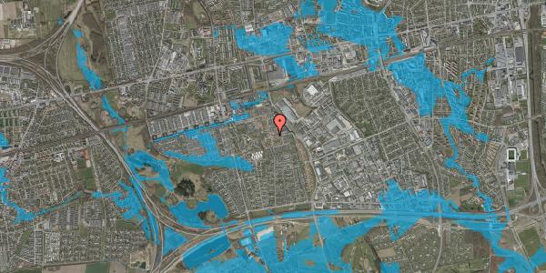 Oversvømmelsesrisiko fra vandløb på Liljeparken 6, 2625 Vallensbæk