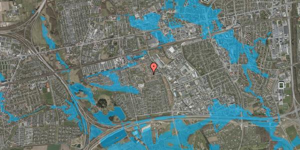 Oversvømmelsesrisiko fra vandløb på Liljeparken 7, 2625 Vallensbæk