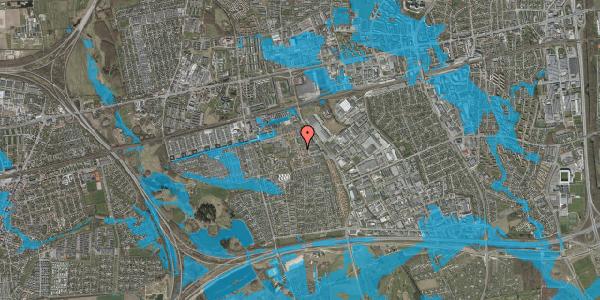 Oversvømmelsesrisiko fra vandløb på Liljeparken 26, 2625 Vallensbæk