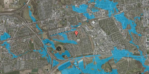 Oversvømmelsesrisiko fra vandløb på Løkkekrogen 5E, 1. 58, 2625 Vallensbæk