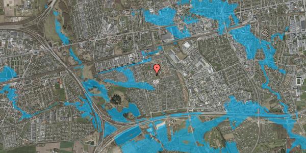 Oversvømmelsesrisiko fra vandløb på Løkkekrogen 6, 2625 Vallensbæk