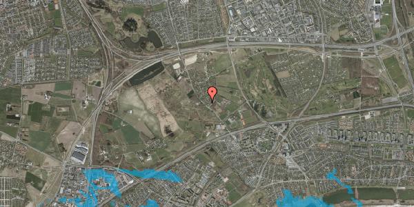 Oversvømmelsesrisiko fra vandløb på Møllestensvej 5, 2625 Vallensbæk
