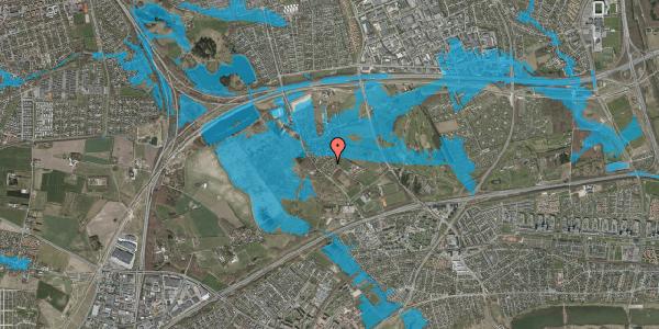 Oversvømmelsesrisiko fra vandløb på Møllestensvej 26, 2625 Vallensbæk