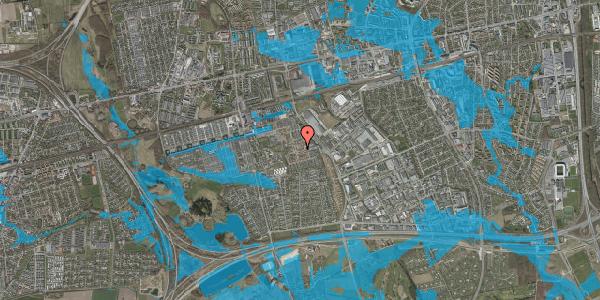 Oversvømmelsesrisiko fra vandløb på Nellikevænget 3, 2625 Vallensbæk