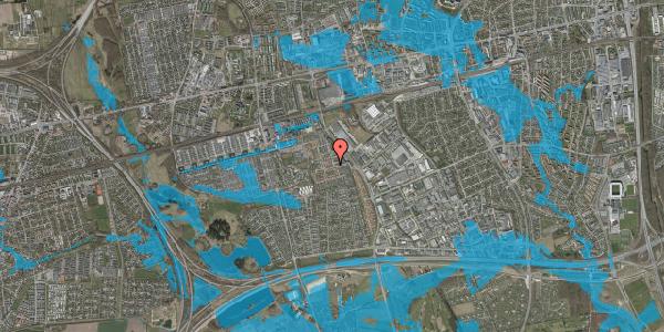 Oversvømmelsesrisiko fra vandløb på Nellikevænget 6, 2625 Vallensbæk
