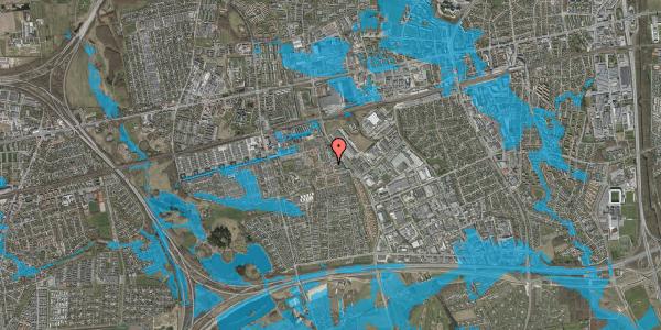Oversvømmelsesrisiko fra vandløb på Nellikevænget 18, 2625 Vallensbæk