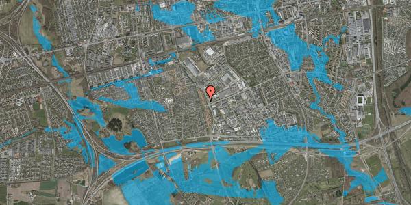 Oversvømmelsesrisiko fra vandløb på Nordmarksvænge 6, 2625 Vallensbæk