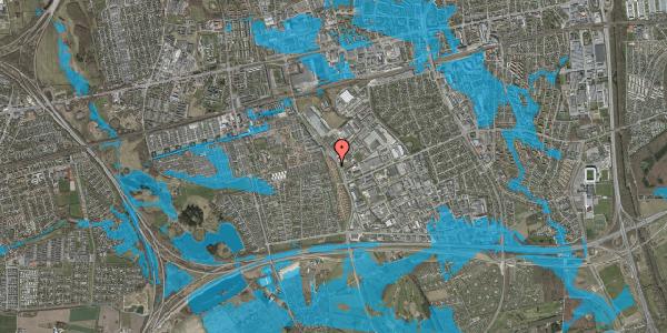 Oversvømmelsesrisiko fra vandløb på Nordmarksvænge 26, 2625 Vallensbæk