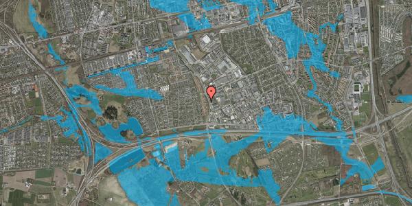 Oversvømmelsesrisiko fra vandløb på Nordmarksvænge 29, 2625 Vallensbæk