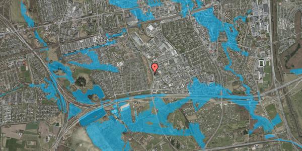 Oversvømmelsesrisiko fra vandløb på Nordmarksvænge 31, 2625 Vallensbæk