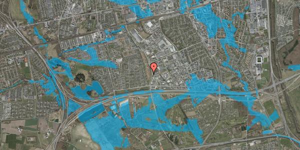 Oversvømmelsesrisiko fra vandløb på Nordmarksvænge 47, 2625 Vallensbæk