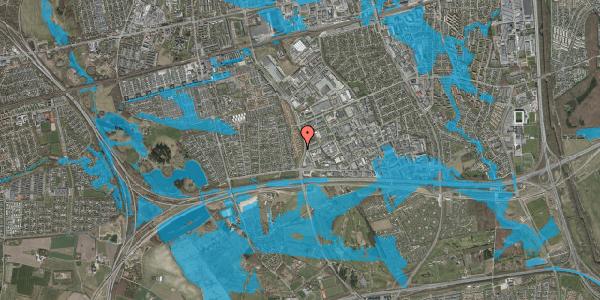 Oversvømmelsesrisiko fra vandløb på Nordmarksvænge 49, 2625 Vallensbæk