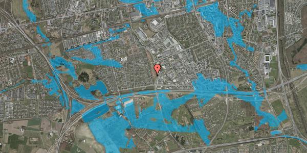 Oversvømmelsesrisiko fra vandløb på Nordmarksvænge 67, 2625 Vallensbæk